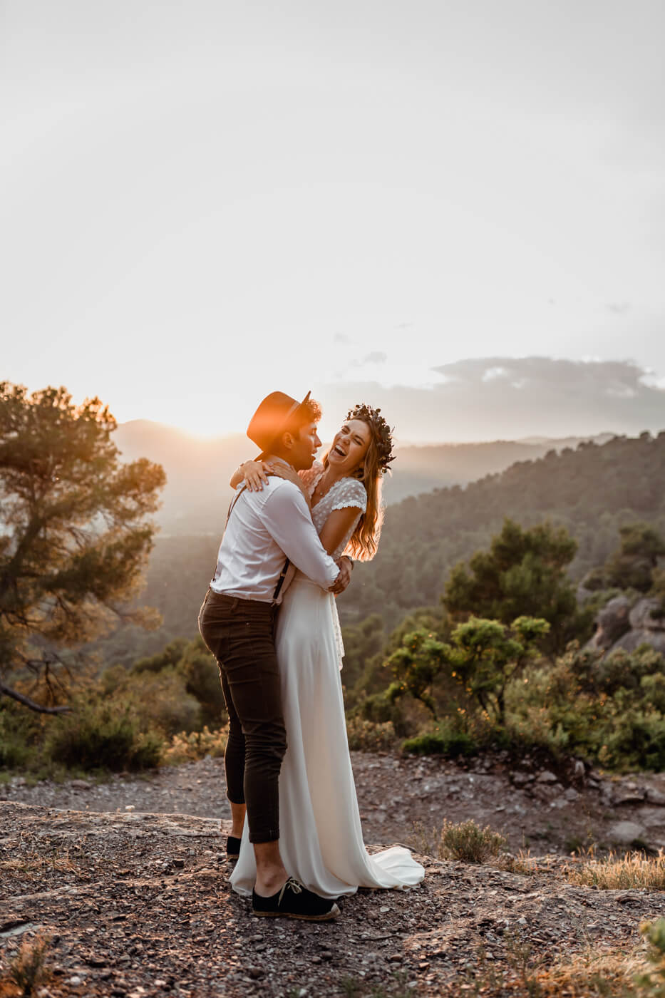 Best Wedding Elopement photographer Barcelona Svobodova