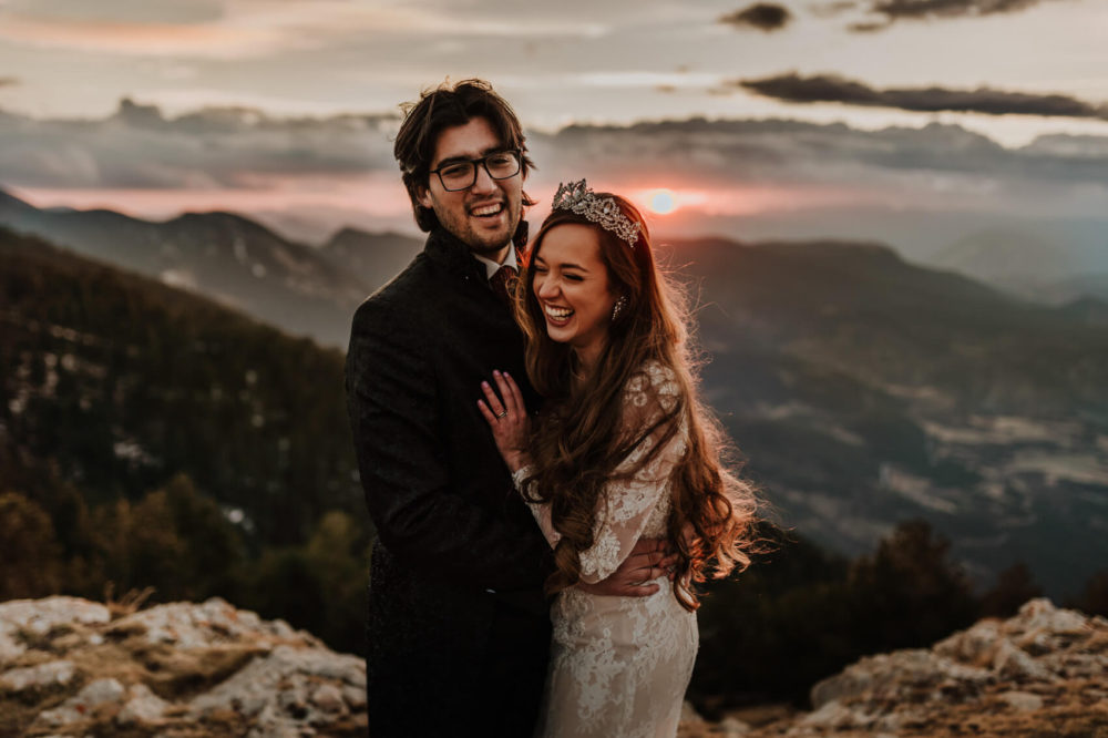 Photography mountain elopement Barcelona Spain