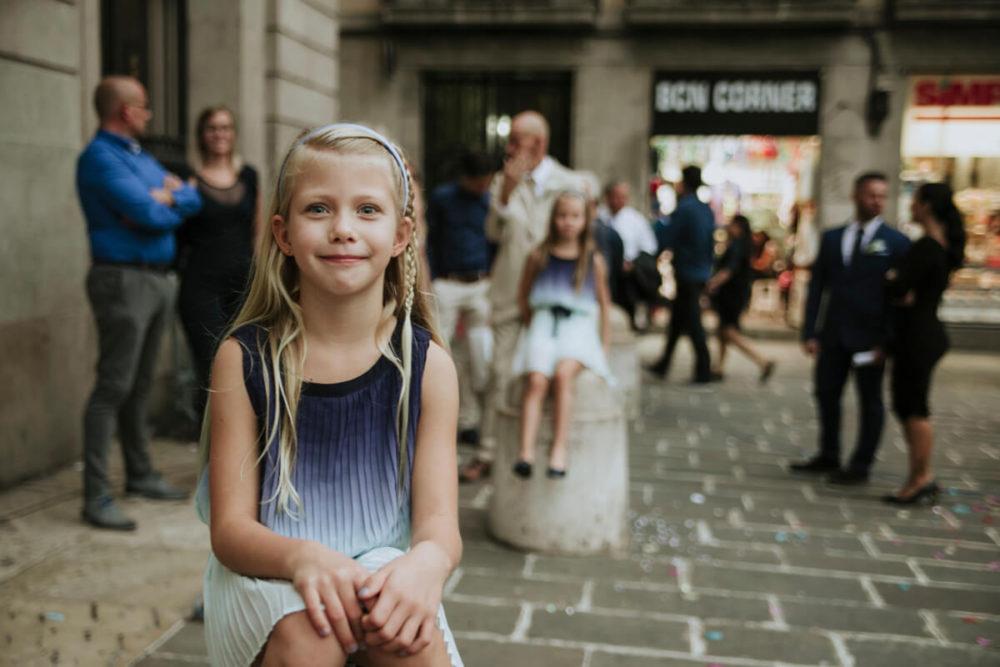Emotional City Hall Wedding in Barcelona
