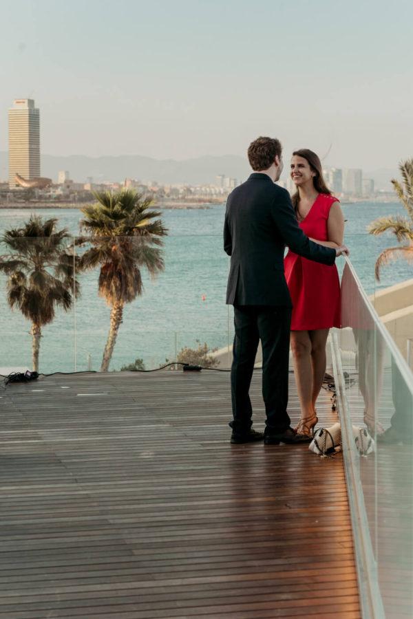 Photographer Barcelona Secret Proposal Session