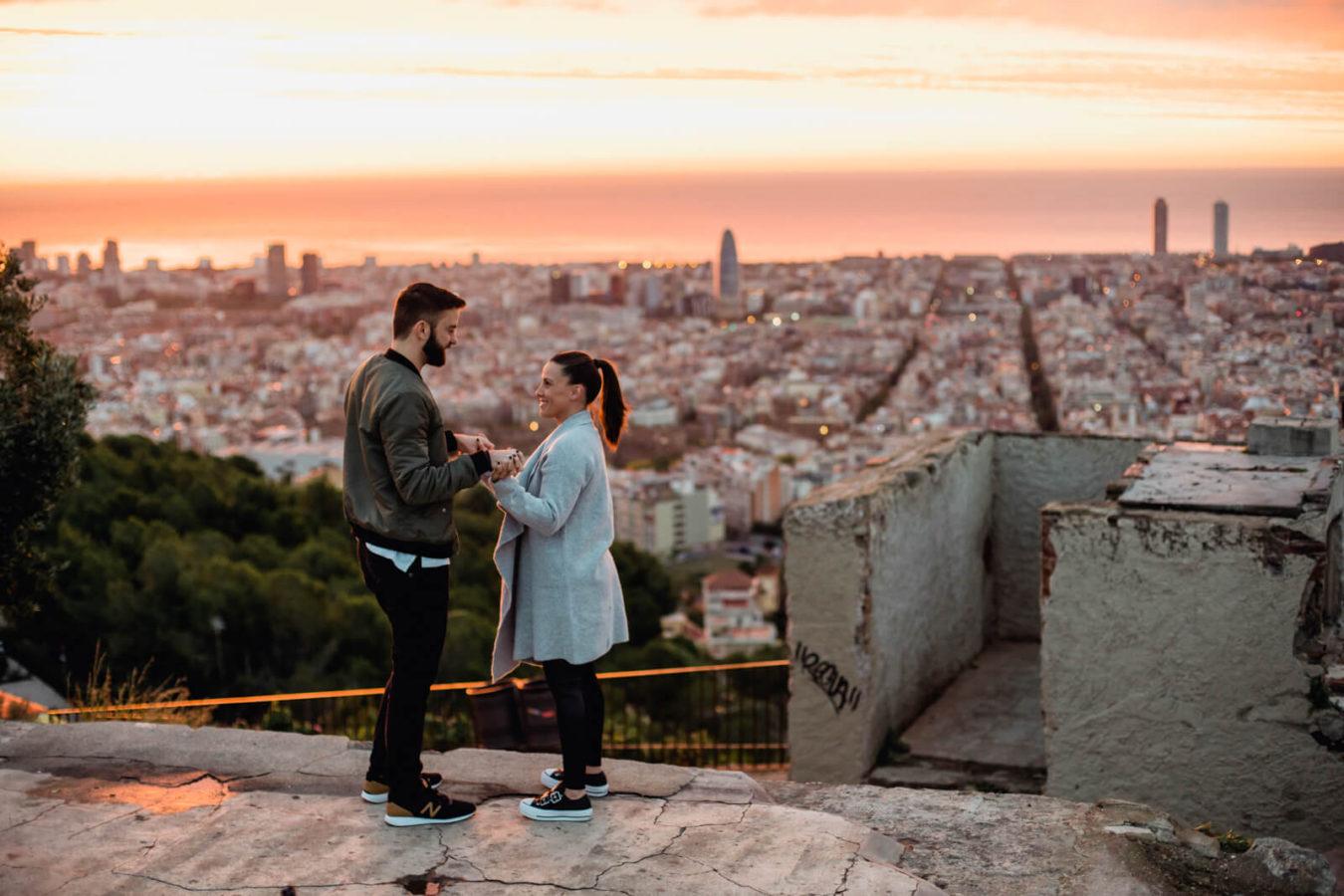 Fotografo Pedida de mano Barcelona Anna Svobodova