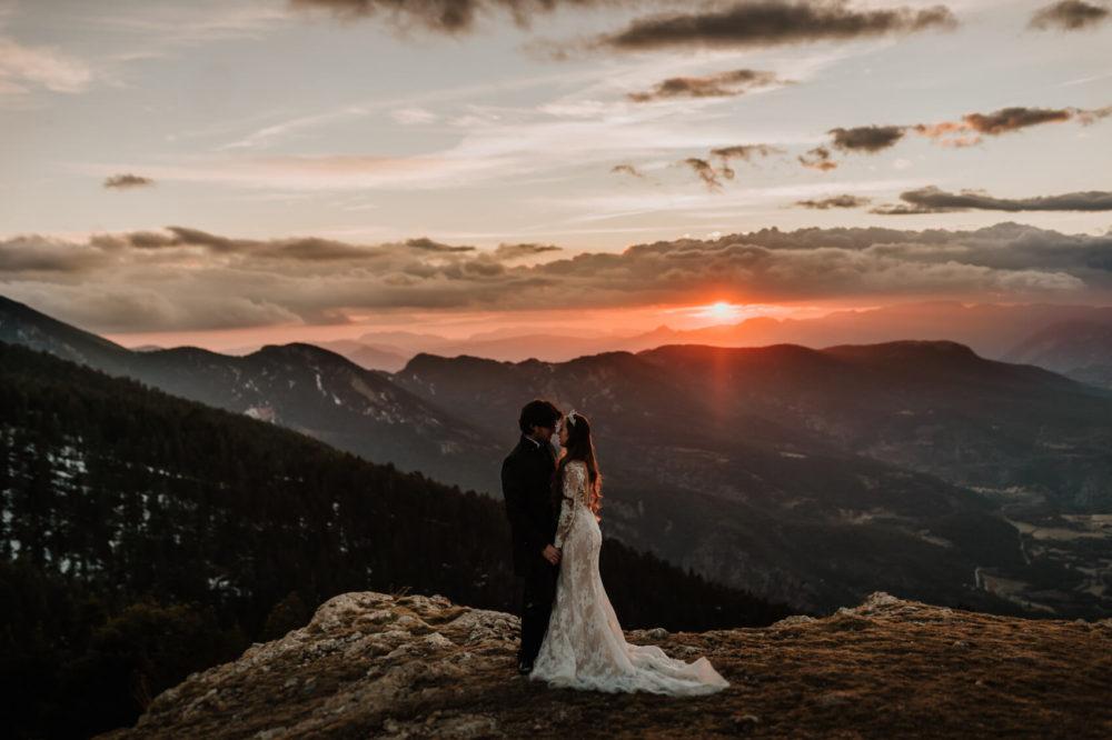 Post Wedding Mountain Session Wedding Photographer Catalonia Barcelona Anna Svobodova