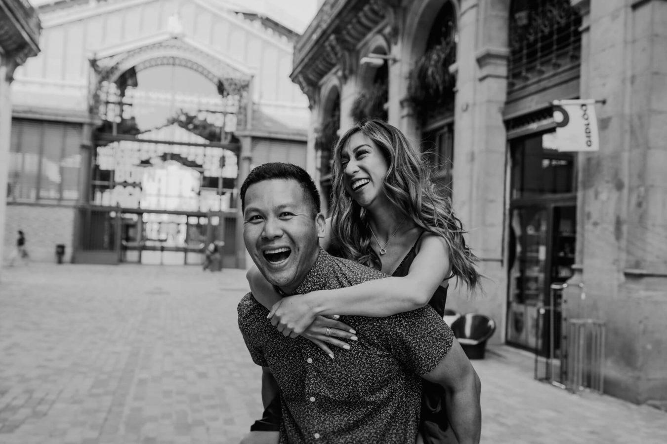 Barcelona Lovestory Engagement Photographer Anna Svobodova