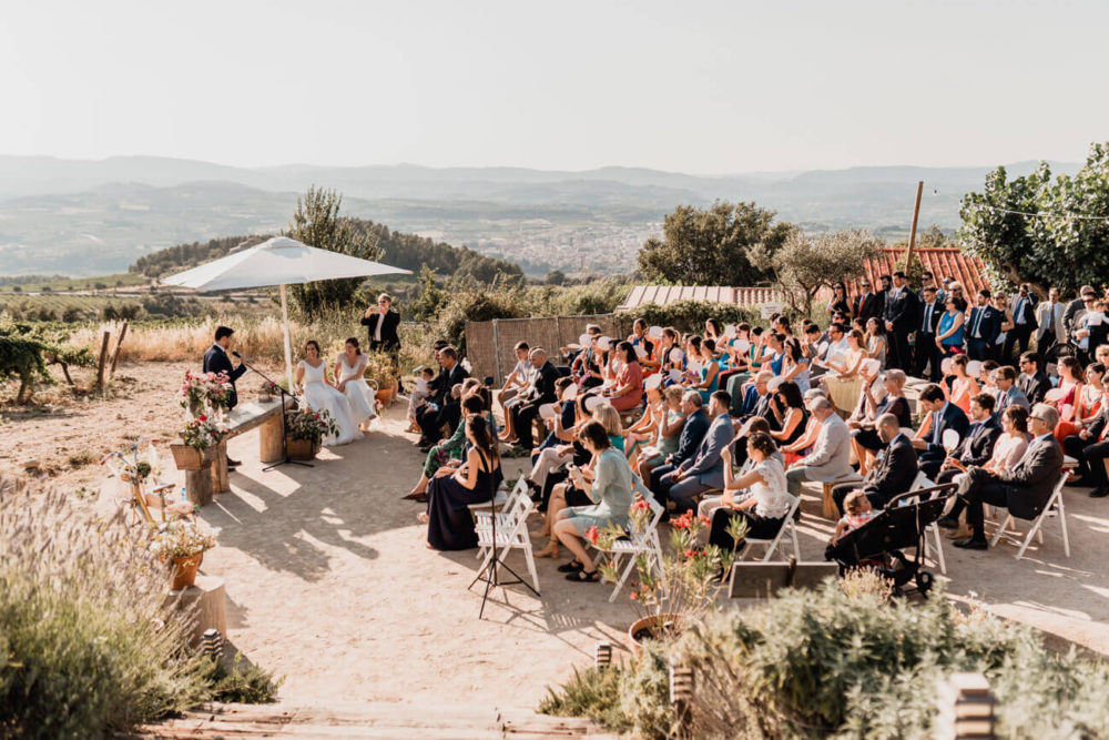 Mejor fotografo Boda entre vinas Barcelona