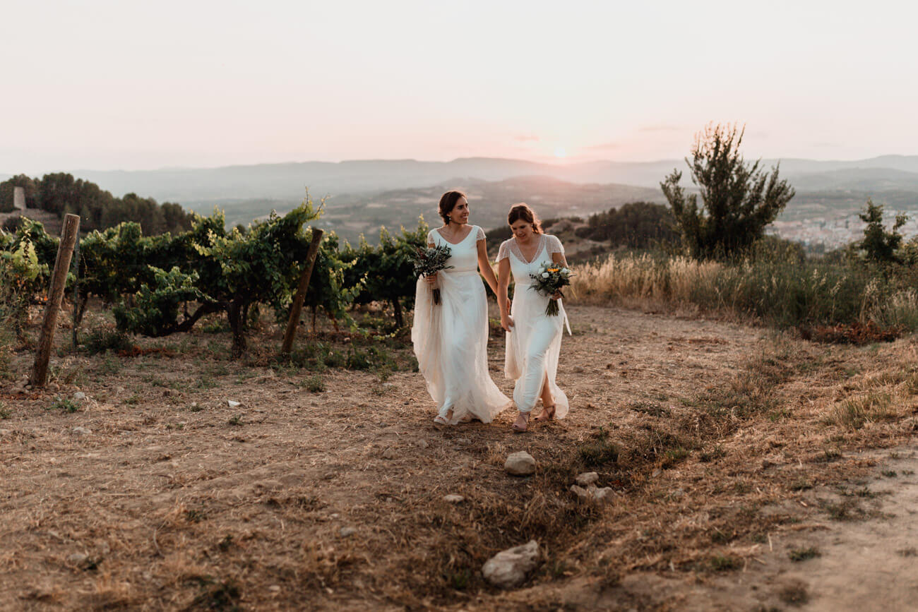 Winery Wedding Spain Photographer