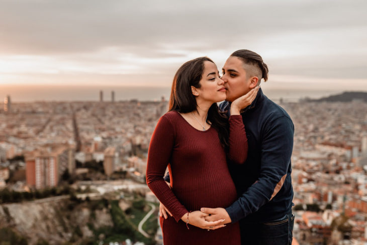 Fotos Embarazo Premama Pareja Barcelona Svobodova