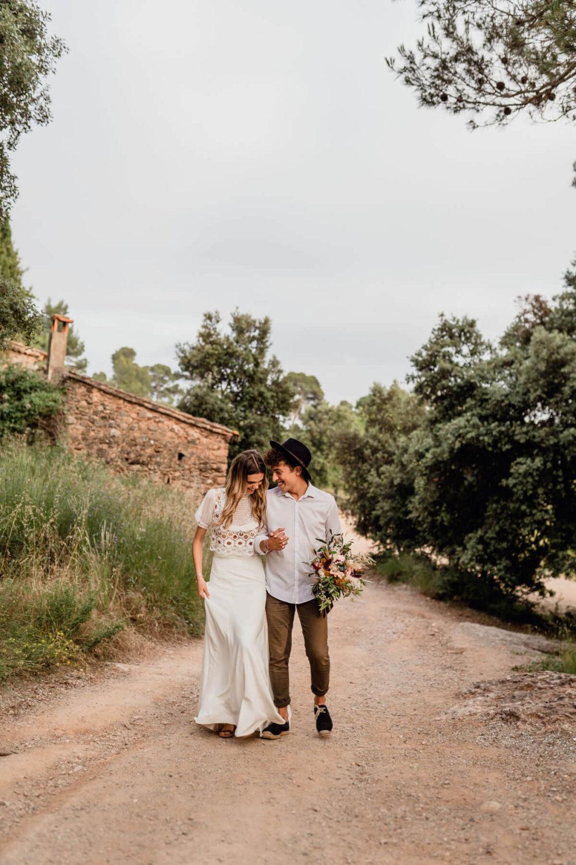 Fotografo bodas Barcelona Svobodova boda bosque
